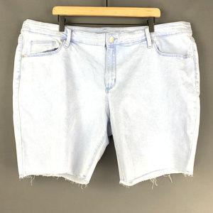 "NWT Universal Thread 9"" Bermuda Jeans Shorts 24W"
